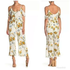 NEW Raga Buttercup Fields Floral Jumpsuit Small
